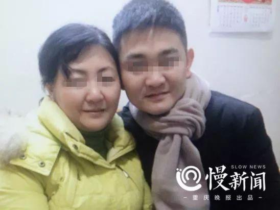 ▲朱晓娟与失而复得的儿子团聚