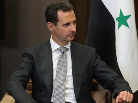 叙利亚总统阿萨德。来源:俄罗斯卫星网