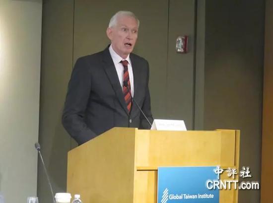 美国在台协会(AIT)主席莫健(Jim Moriarty)