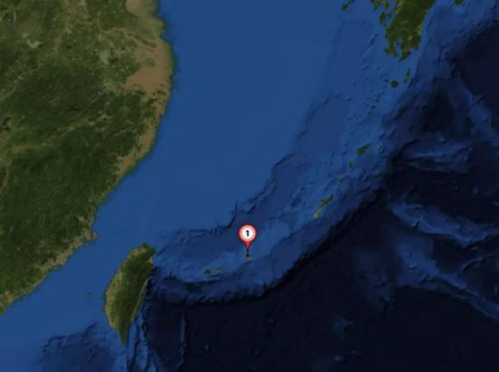▲宫古岛场合表示图