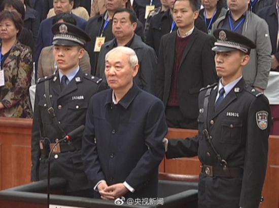 张中生案庭审图 图自@央视新闻