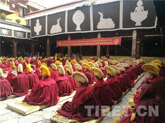 答辩现场 本文图片均来自中国西藏网