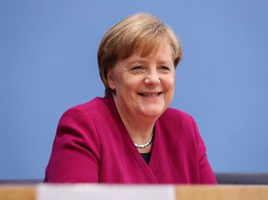 德国总理默克尔 新华社 图
