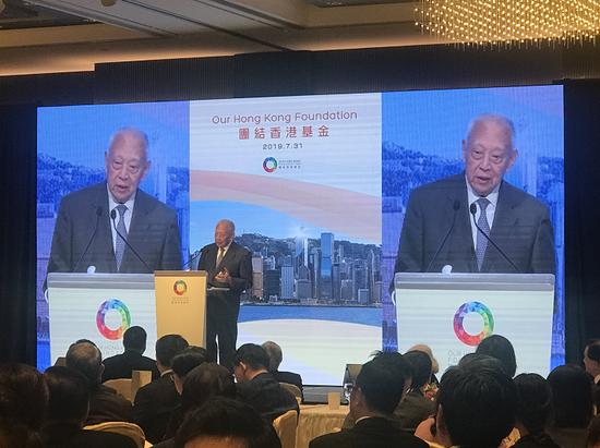 董建华:香港暴力事件幕后推手指向台湾和美国|董建华