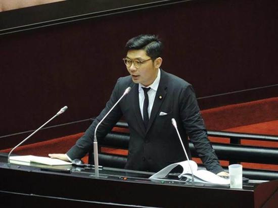 """国民党""""立委"""" 许毓仁 图自台媒"""