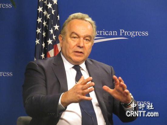 前美国助理国务卿坎贝尔(图片来源:中评社)