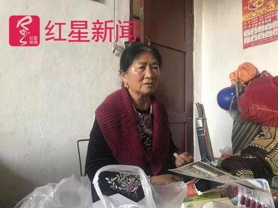 ▲死者的岳母李汝珍。