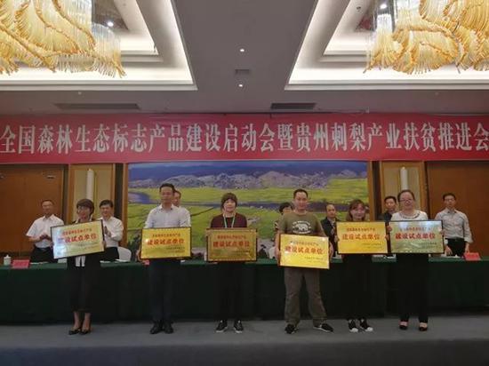 13家刺梨企业被列为森林生态标志产品试点单位 本文图均为贵州日报微信公众号 图