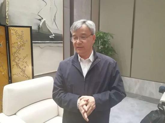 ▲中控集团创始人 褚健(每经记者沈溦 摄)