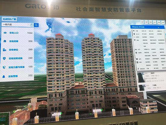 杨浦某小区试点使用智慧社区系统。