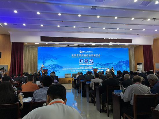6月2日,由中联部主办的第十九届万寿论坛在小岗村举行。本文图片 澎湃新闻记者 汤琪