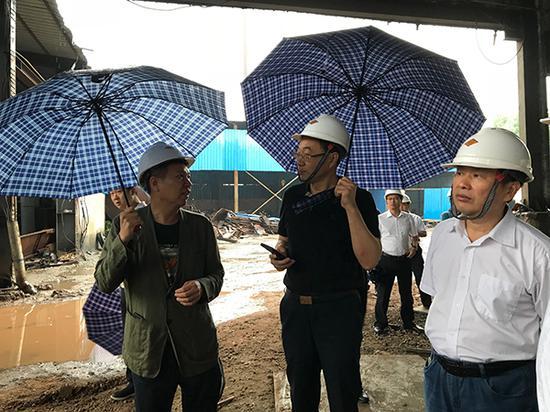 5月29日,专项工作抽查组奔赴湖南常德、怀化两地。