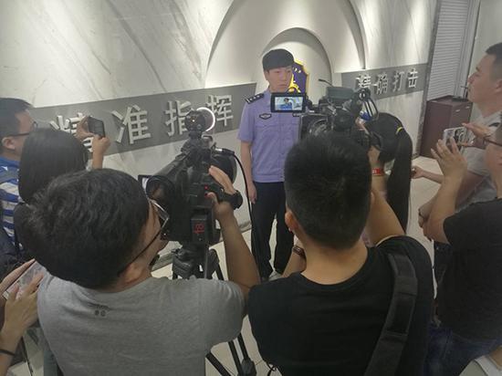 发布会现场照片。 本文图片 澎湃新闻记者 蒋格伟 图