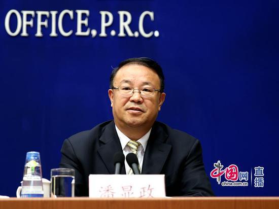 农业农村部办公厅主任、新闻发言人潘显政 中国网 宗超