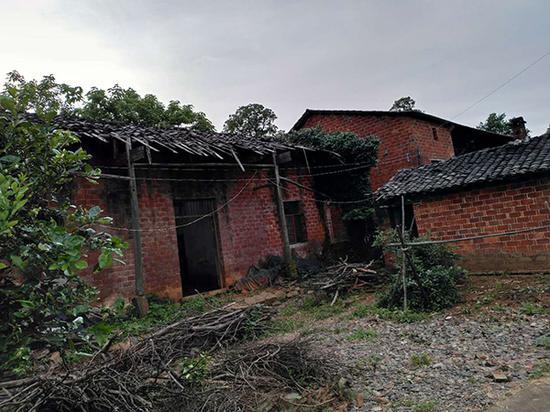 张家村的张玉环家老宅外景。张民强 图