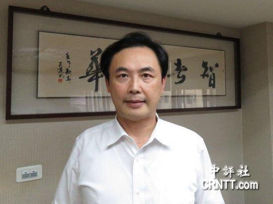 图为台湾观光发展协会副理事长柯牧洲。(来源:中评社)