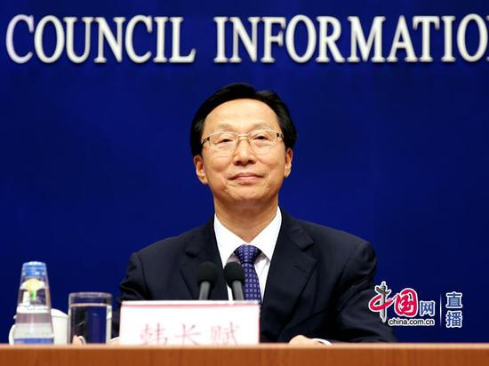 农业农村部部长韩长赋 中国网 宗超 摄