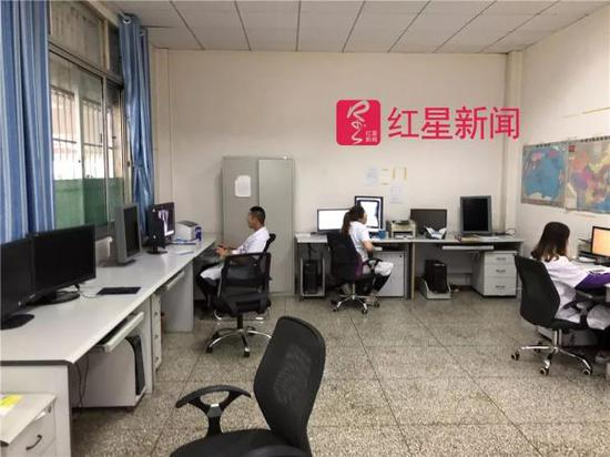 张晓波和黄亨平医生出事前的办公地点