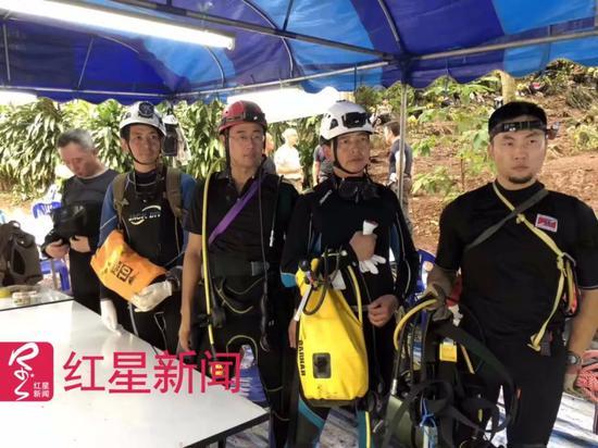 ▲中国救援人员 受访者供图