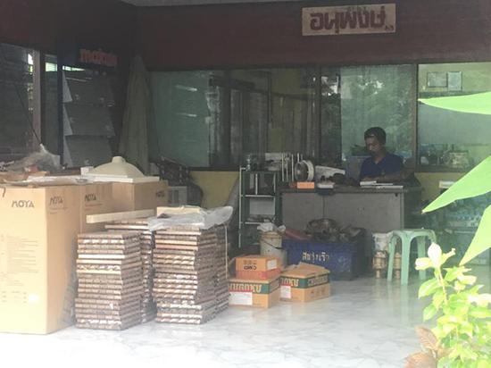船厂办公室。澎湃新闻记者 邓雅菲 图