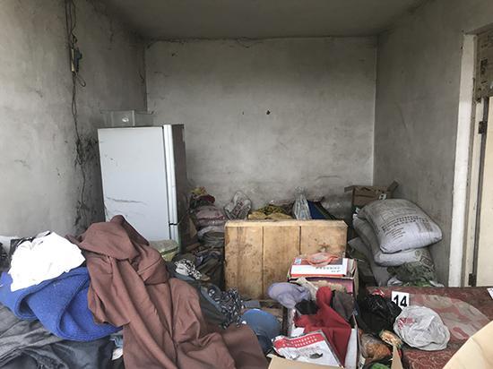 王力辉住过的房间。