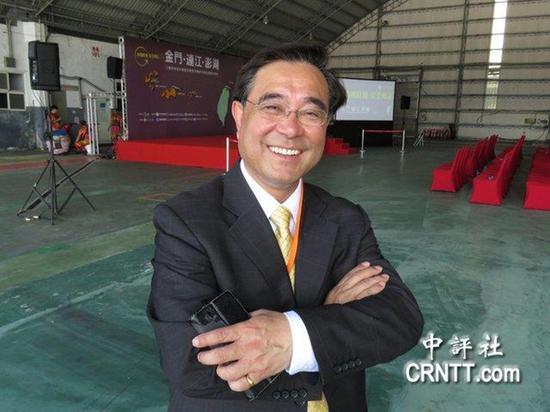 金门县副县长吴成典 图自中评社