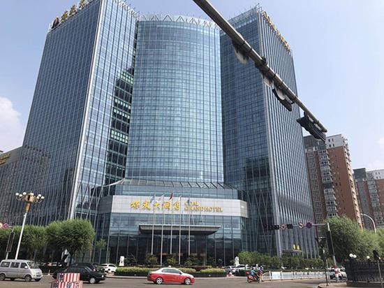 陈鸿志旗下的煤炭大酒店,凌志集团总部就设在这里。本文图均为 澎湃新闻记者 庄岸 图