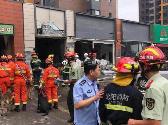 沈阳一烧烤店爆炸波及社区办公室 社区副书记身亡