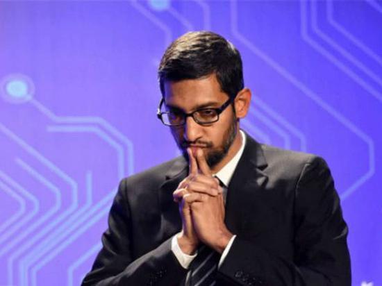谷歌CEO桑达尔·皮查伊(Sundar Pichai) 图自外媒