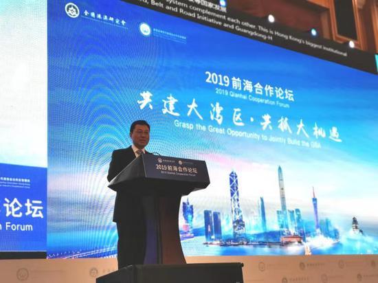 外交部驻港公署特派员:中国是引领国际关系的暖流|国际关系