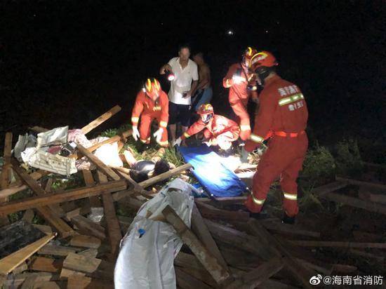 龙卷风,工人,海南儋州突发龙卷风