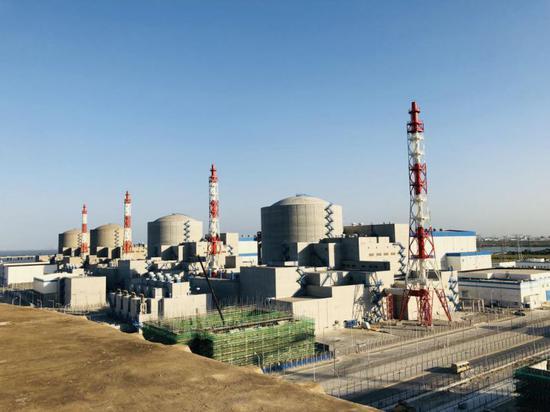 田湾核电站近景