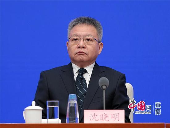 海南省委副书记、省长沈晓明 中国网 图