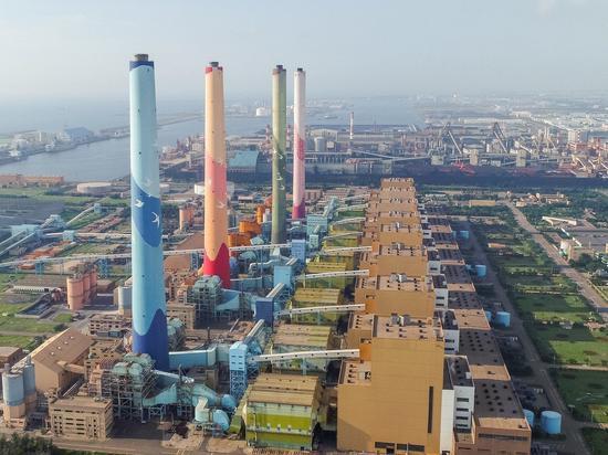 台中火力发电厂 图源:台中市政府