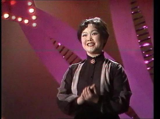 李谷一在1983年春晚上演唱歌曲