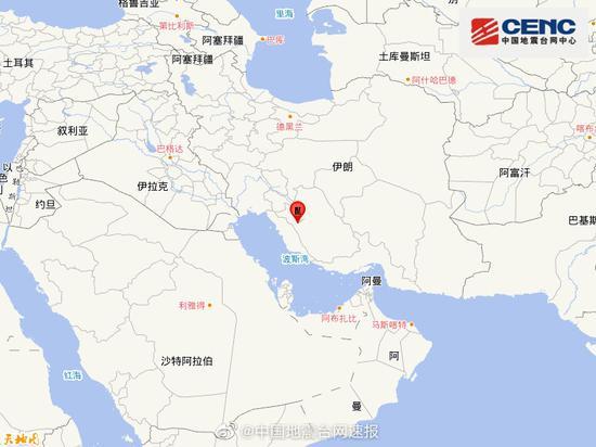 伊朗5.2级地震【图】