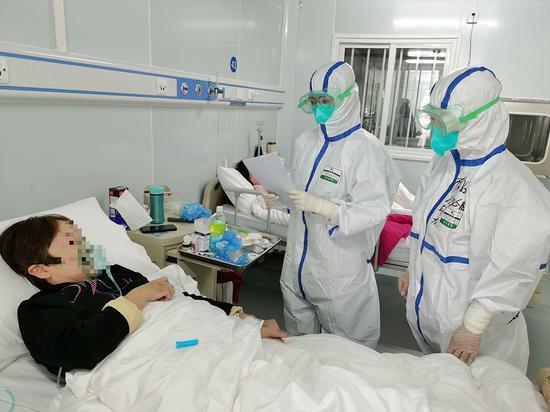 雷神山收治第二批患者 核酸检测联合第三方进行图片