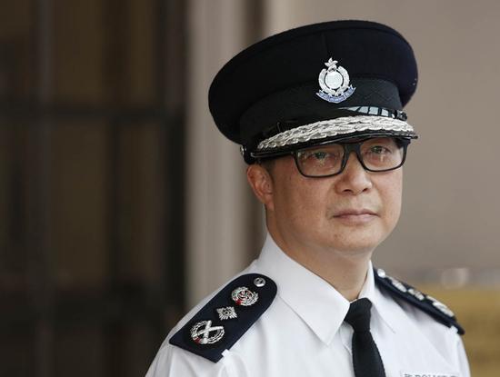 <b>港警一哥发录音感谢前线警员:帮香港打多场硬仗|警务处</b>