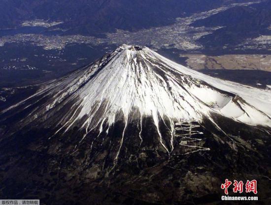 资料图:日本富士山。