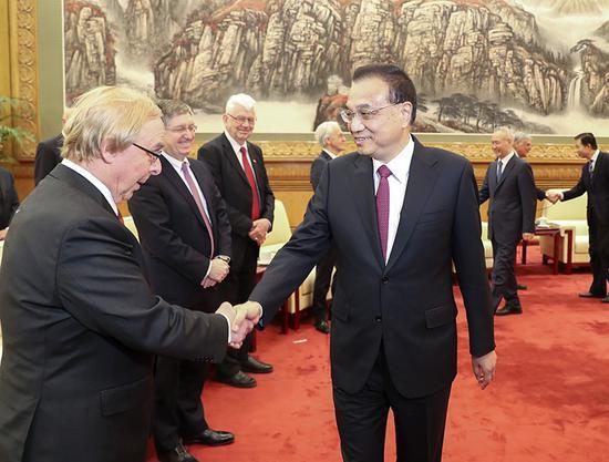 李克强同在华外国专家举行新春座谈会(图)图片