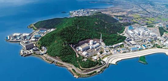 △1991年12月秦山核电站并网发电。