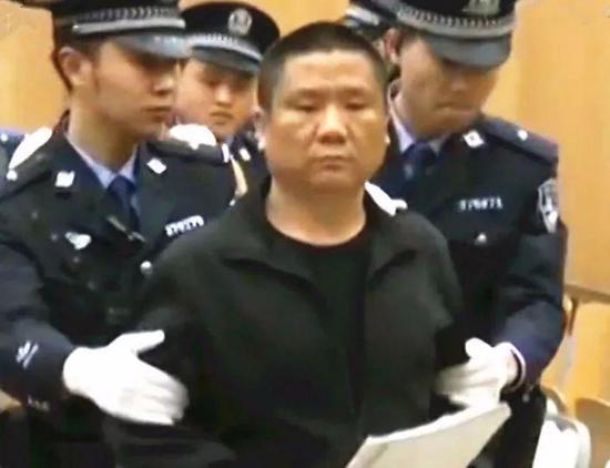 吴学占一审被判有期徒刑25年