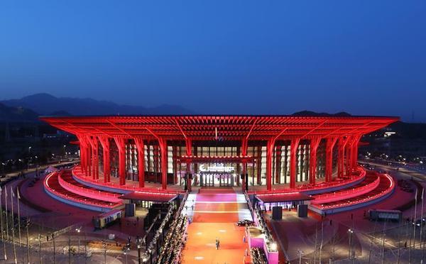 第八届北京国际电影节开幕现场