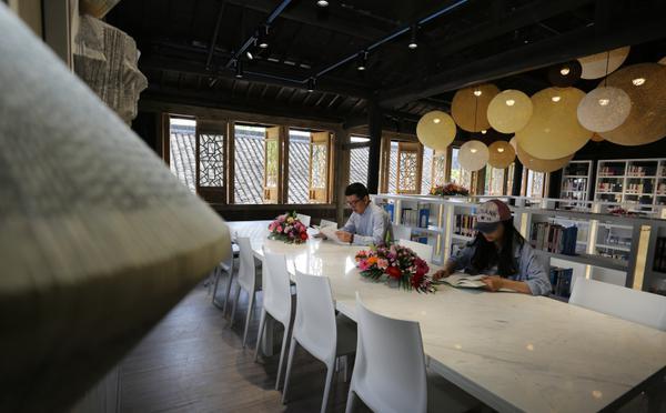 24小时不打烊 浙江湖州城市书房免费开放