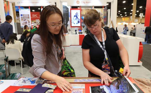 中国文化品牌产品亮相国际品牌授权博览会