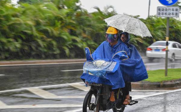 """台风""""山神""""登陆海南 最大风力达9级"""