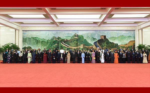 习近平彭丽媛欢迎北京峰会外方领导人夫妇