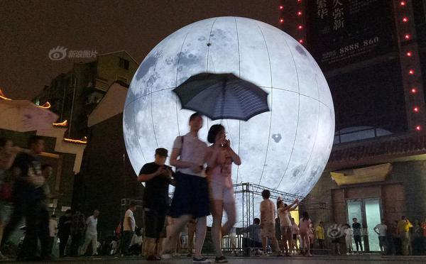 """中秋流行造月亮?各地""""人造月亮""""盘点"""
