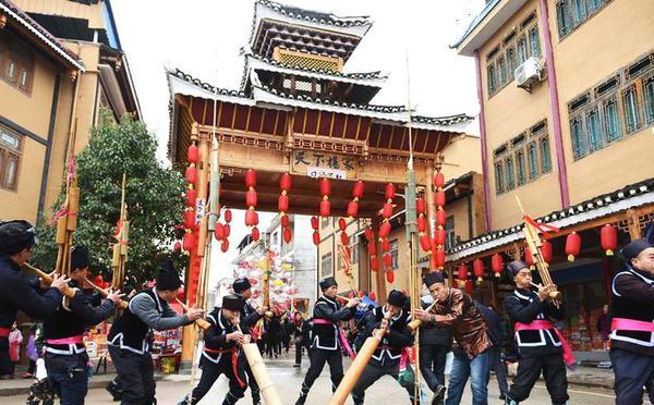 贵州黎平:侗族同胞闹侗年