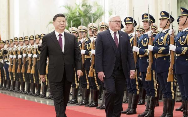 习近平同德国总统施泰因迈尔举行会谈